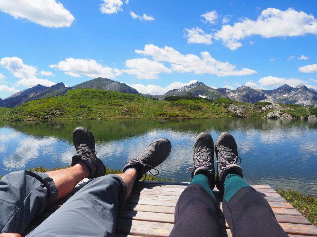 Wandelschoenen Grisport Aspen Mid in de bergen