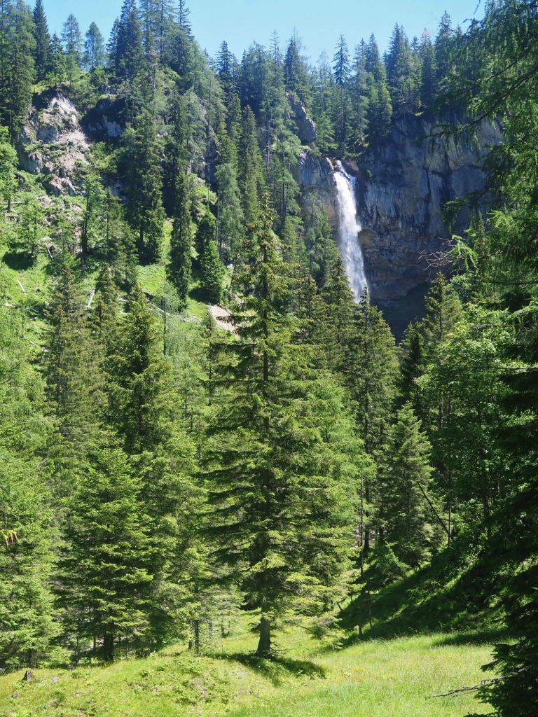 Waterval Johannesfall in het SalzburgerLand