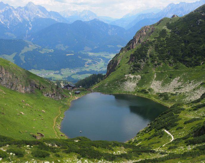 Wandelen naar de Wildseeloder in Fieberbrunn