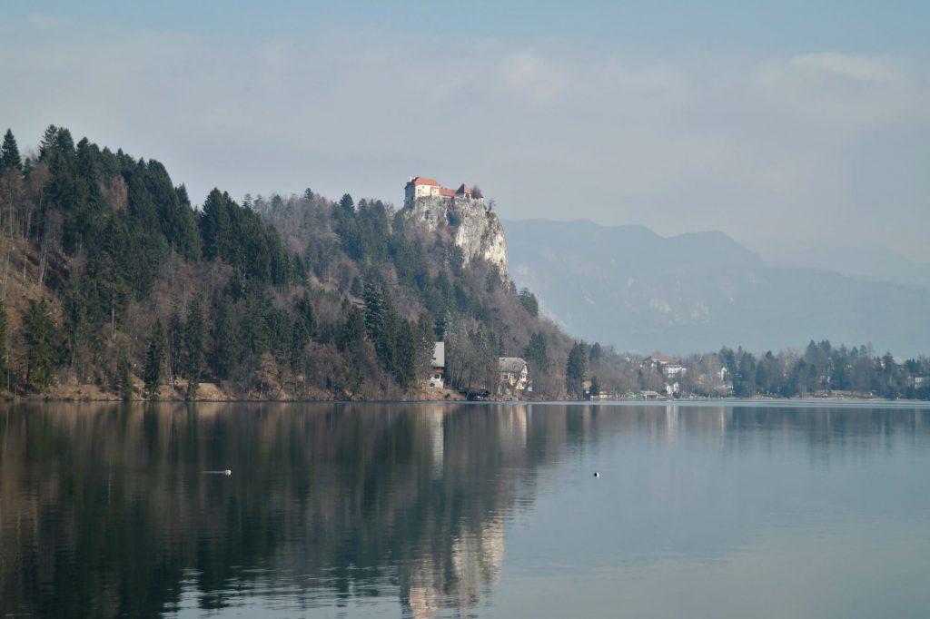 Wandeling rond het meer van Bled