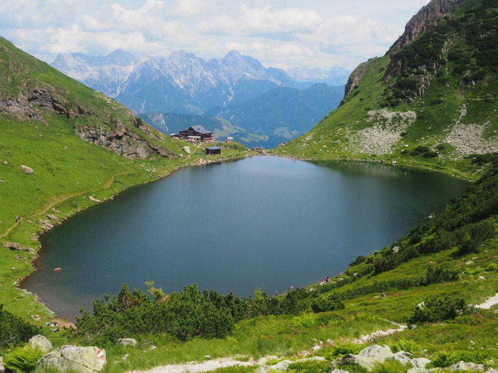 Wildsee en Wildseeloderhaus in de Kitzbüheler Alpen
