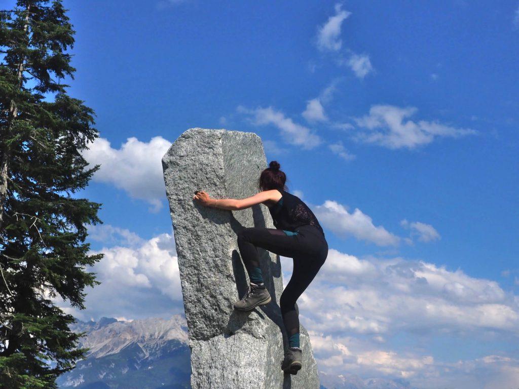 Klimmen op rotsen in Timoks Wilde Welt